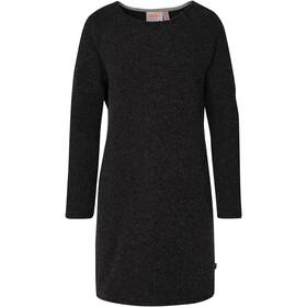Varg Fårö Long Wool Dress Dame dark anthracite